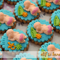 Welcome Baby / Baby Shower Cookies