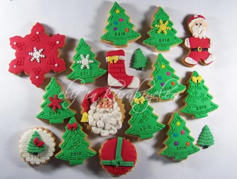 Çocuklardan Noel Kurabiyeleri 24